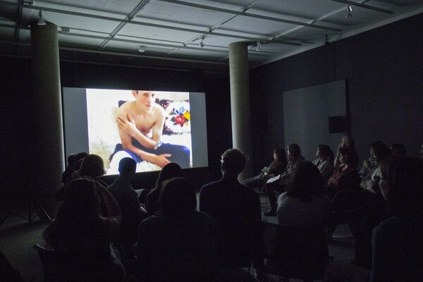 Phil Collins: A Learning Site, installation view