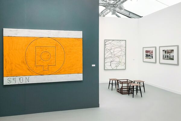 Mai 36 Galerie at Frieze London 2018, installation view
