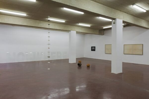 NOWWHERE, installation view