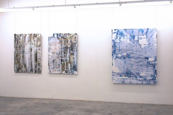Abstraction in Three Mediums, installation view