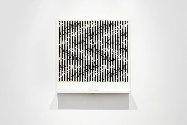Michael Kidner: In Black and White, installation view