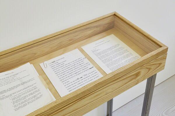 Joseph Grigely, installation view