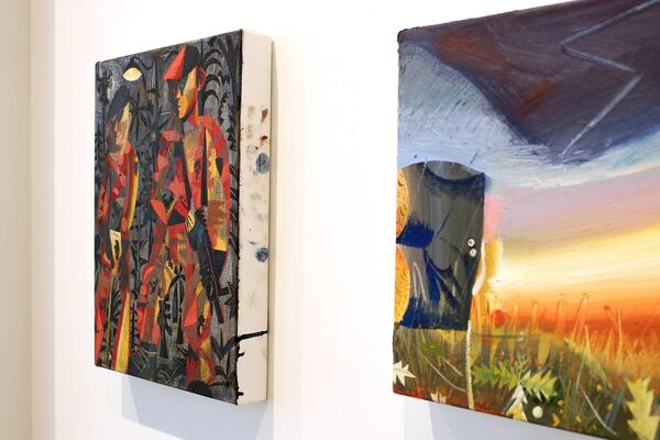 May 2017 Exhibition - Louis Fratino & Anna Glantz & Anthony Cudahy, installation view