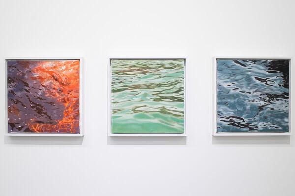 Stephan Kaluza - Transit (II). Malerei, installation view