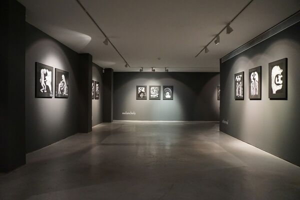 Roger Ballen | The Theatre of Apparitions, installation view