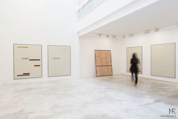 Jean-Pierre Bertrand: Des surfaces peintes larges plates claires, installation view