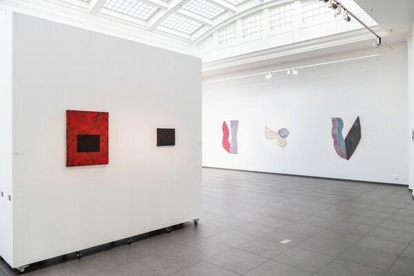THREE AMERICANS FROM NEW YORK, installation view
