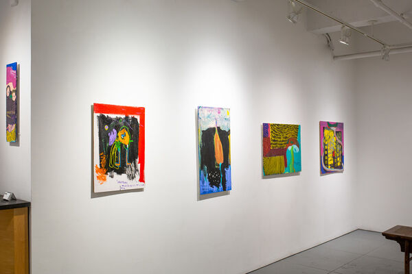 Painting the Japanese Blues: Introducing Issei Nishimura, installation view