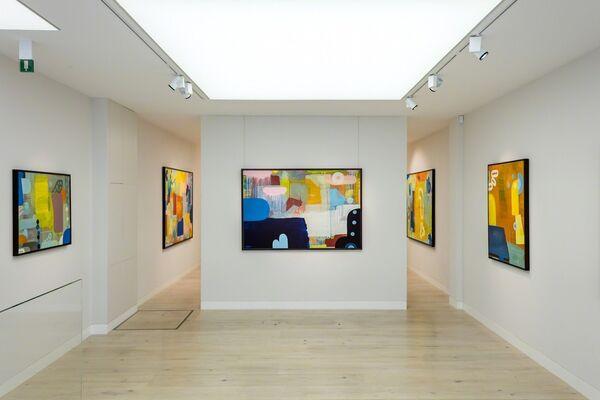 Martin Finnin - The Garden of Opposite, installation view