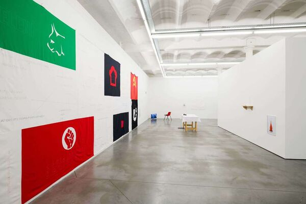 CONTACT ZONES, installation view