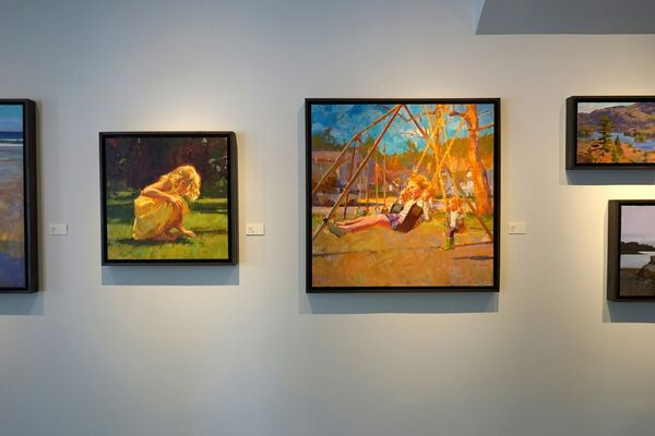 Colin Page | Summer Play, installation view