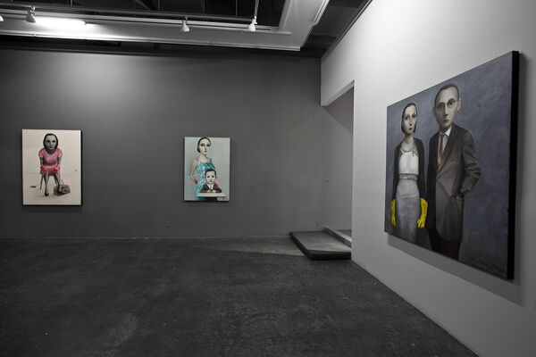 Digital Divide, installation view