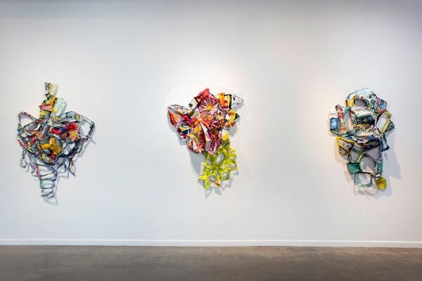 after a long pause......., installation view
