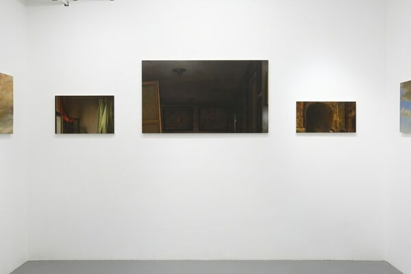 """Makoto Murata """"Spacing Out"""", installation view"""
