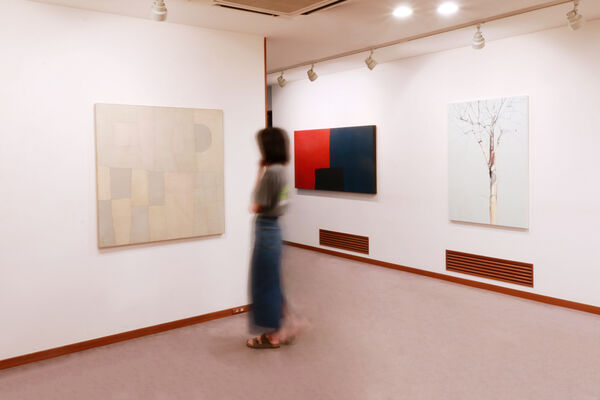 Oil on the Edge, installation view