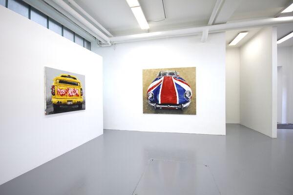 "Michael Peltzer ""Drive me crazy"", installation view"
