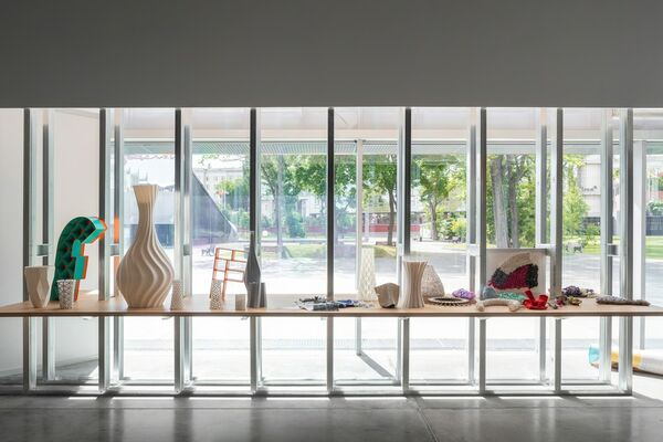 IAM, installation view