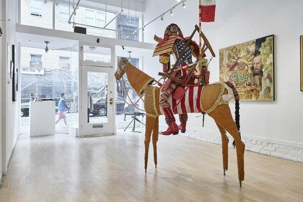 """Ravi Zupa: """"The Turmoil of Being"""", installation view"""