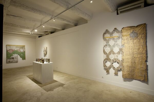 Ibrahim Ahmed - Along Those Lines..., installation view
