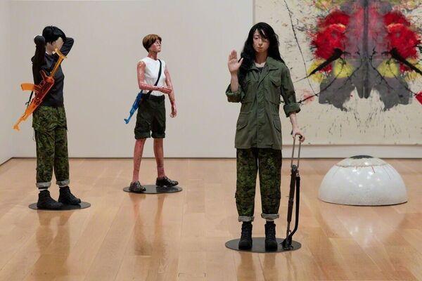 Sightings: Mai-Thu Perret, installation view