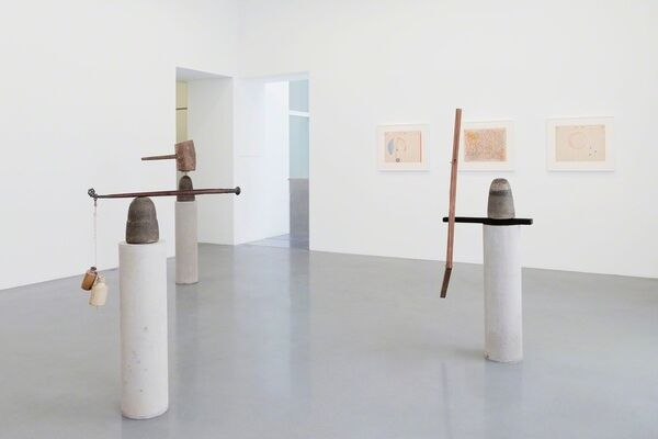 "BHARTI KHER ""THE LAWS OF REVERSED EFFORT"", installation view"