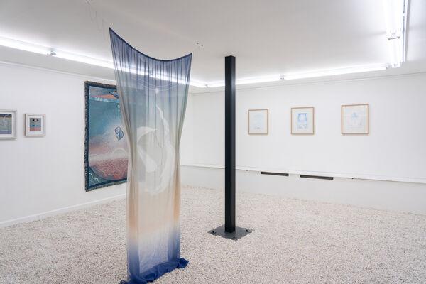 Charlotte Edey: Echolocation, installation view