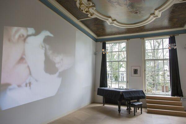 Carolee Schneemann: Infinity Kisses, installation view