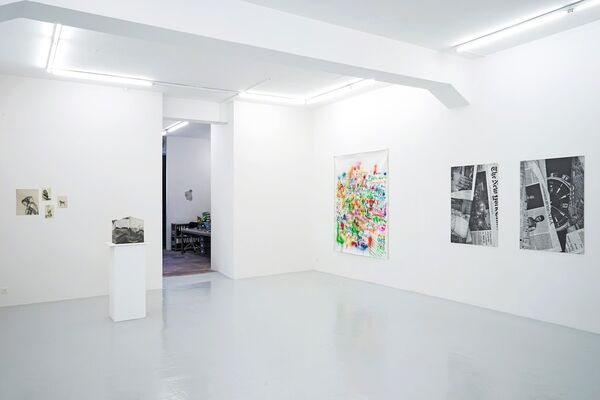 When the facts change, I change my mind, installation view