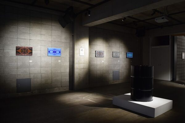 From Seeing to Seen, installation view