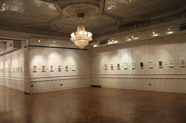 Contemporary Magic : A Tarot Deck Art Project, installation view