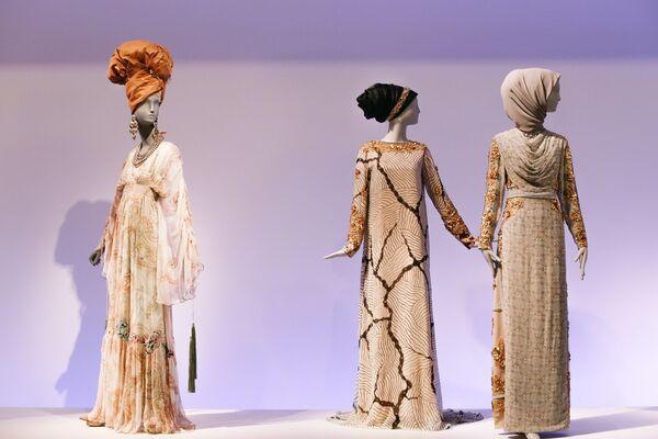 Contemporary Muslim Fashions, installation view