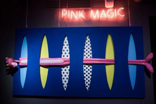 Pink Magic, installation view