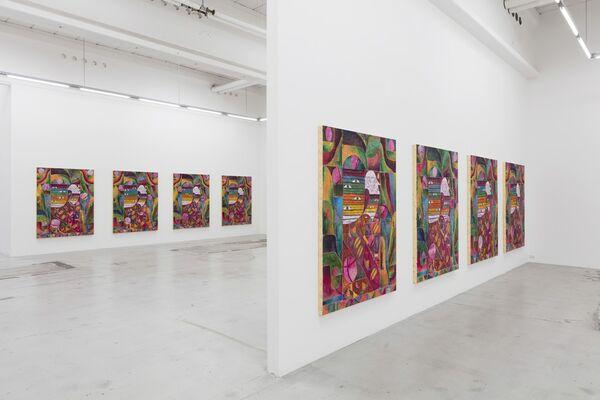 Alexander Tovborg   myten er en tilstand, installation view