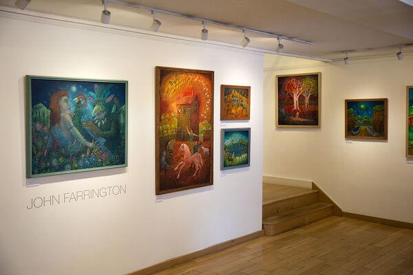 John Farrington, installation view