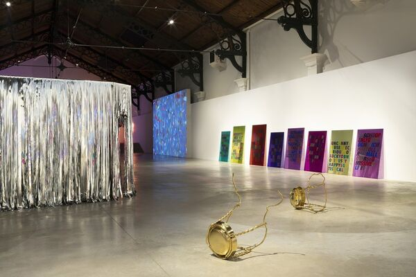 OBNOXIOUSLY HAPPY, installation view