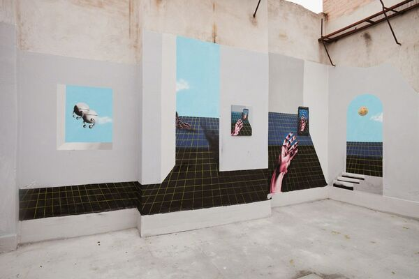 Botond Keresztesi - F.P.S-Future/Past/Sunday, installation view