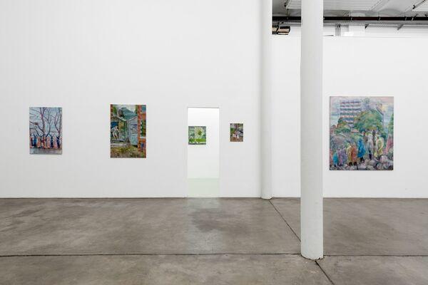 Peter Busch - CASABLANCA, installation view