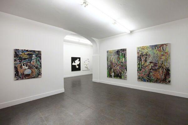 Chris Hood - Zach Reini, installation view