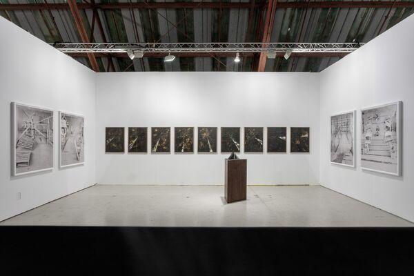 Klowden Mann at Art Los Angeles Contemporary 2018, installation view