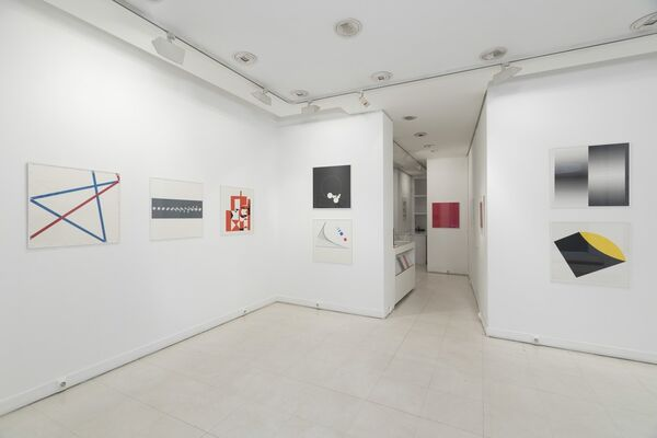 Sérigraphies, installation view