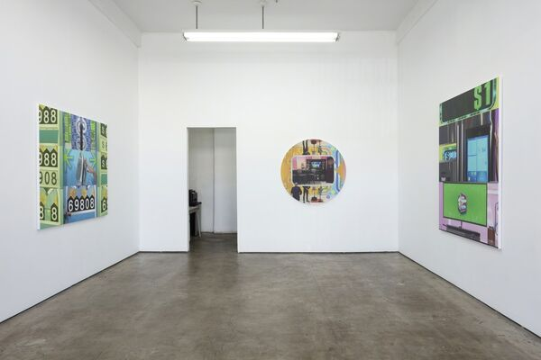 John Miller: The End of History, installation view