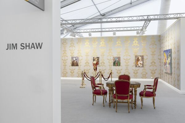 Simon Lee Gallery at Frieze London 2018, installation view