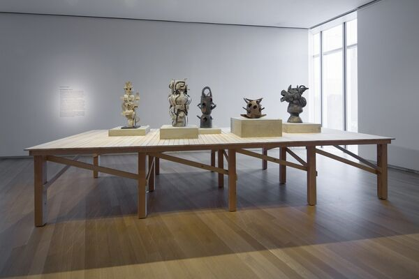 Voulkos: The Breakthrough Years, installation view