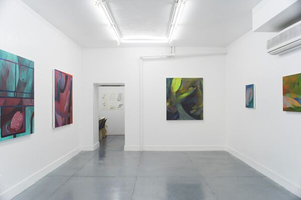 Zoe Avery Nelson, The Measure of a Boi, installation view