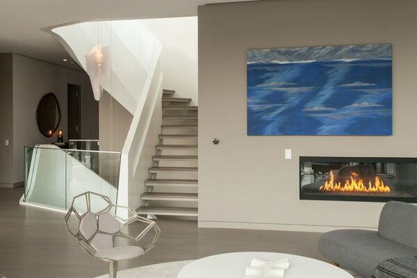 Valli Art Gallery x 520 West 28th by Zaha Hadid, installation view