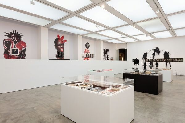 Judy Blame: Never Again, installation view