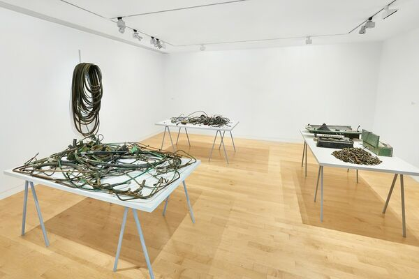 David Brooks: Continuous Service Altered Daily, installation view