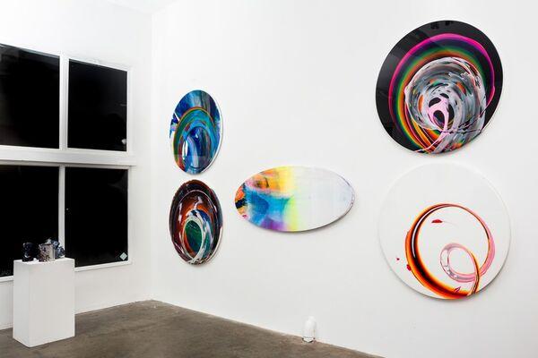 """""""UNFAZED"""", installation view"""