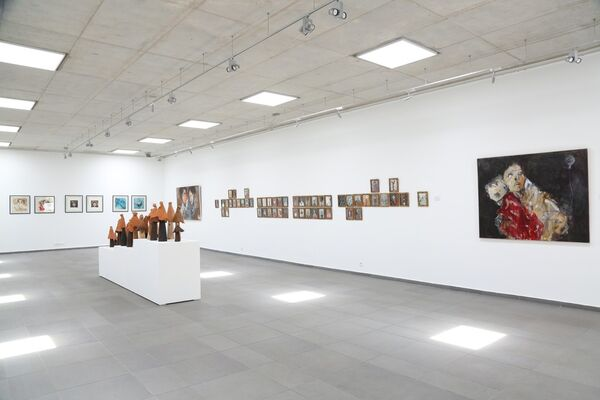 L'HOMME DESCEND DU SONGE (men come from a dream), installation view