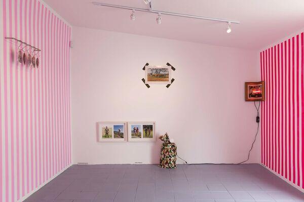 Venganza Positiva (Positive Revenge), installation view